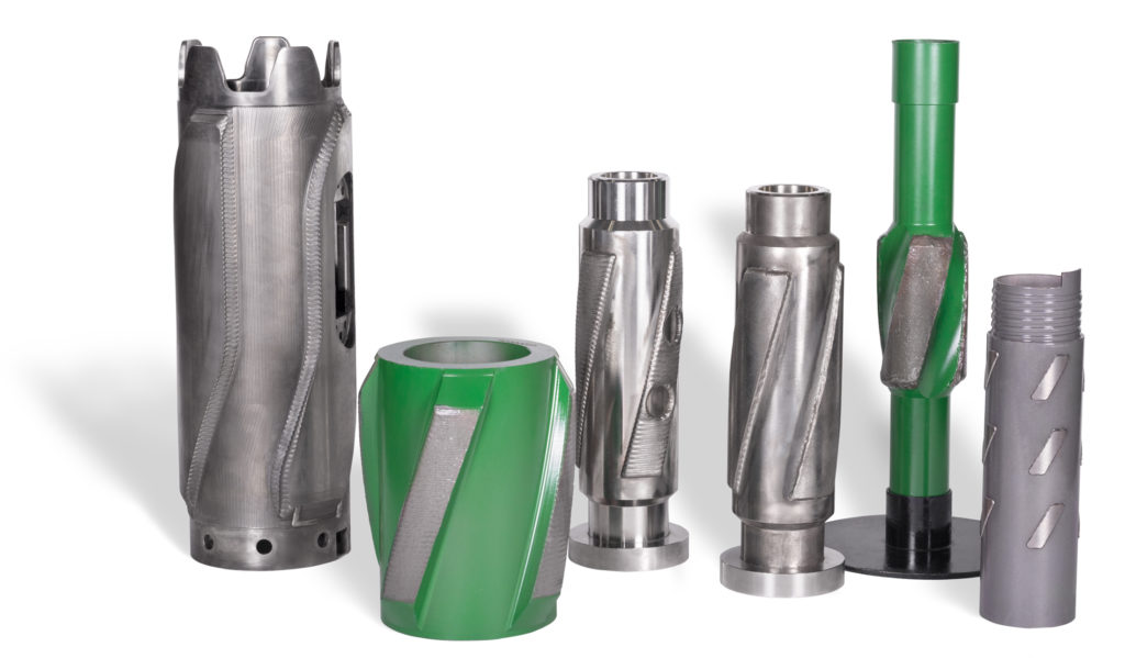 Hardfacing of drilling tools