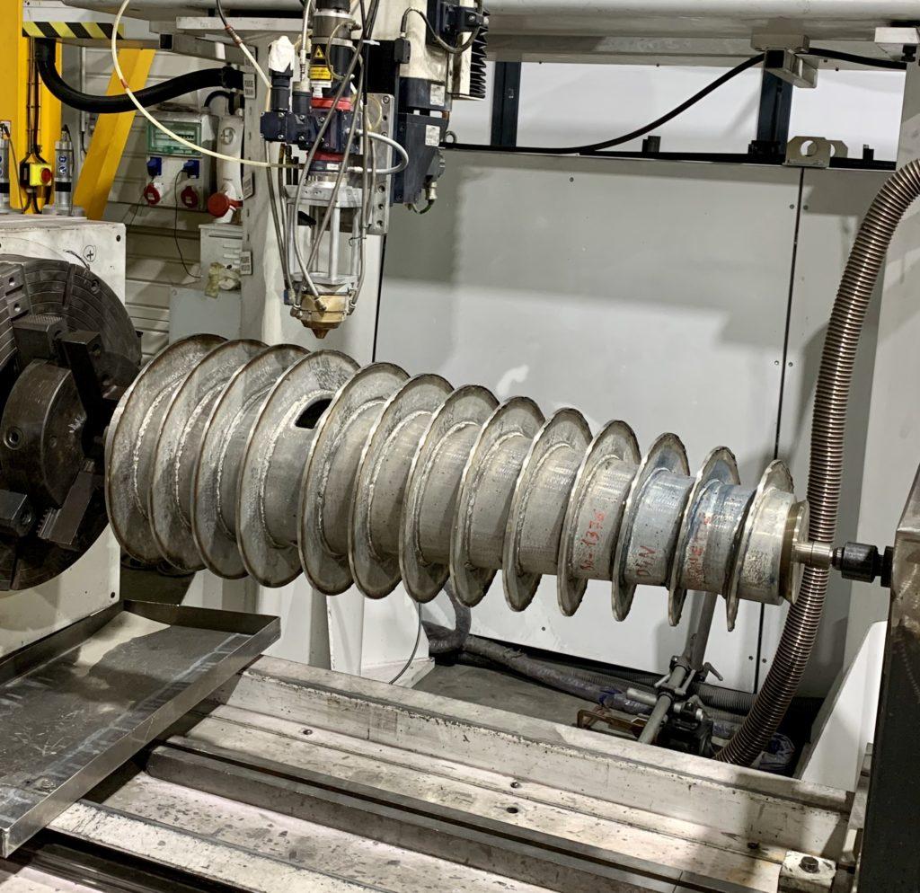 Vis de centrifugation